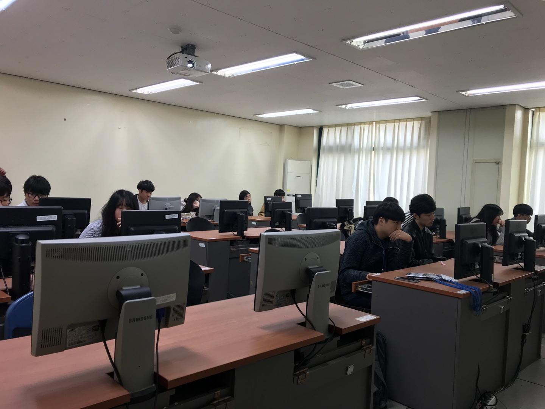 2017년 영재교육원 목포대학교 해킹대회 사진