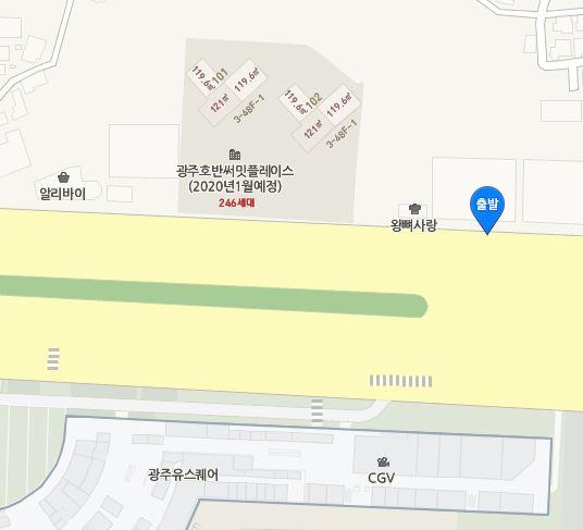 버스 장소 지도 첨부(광주 수정)