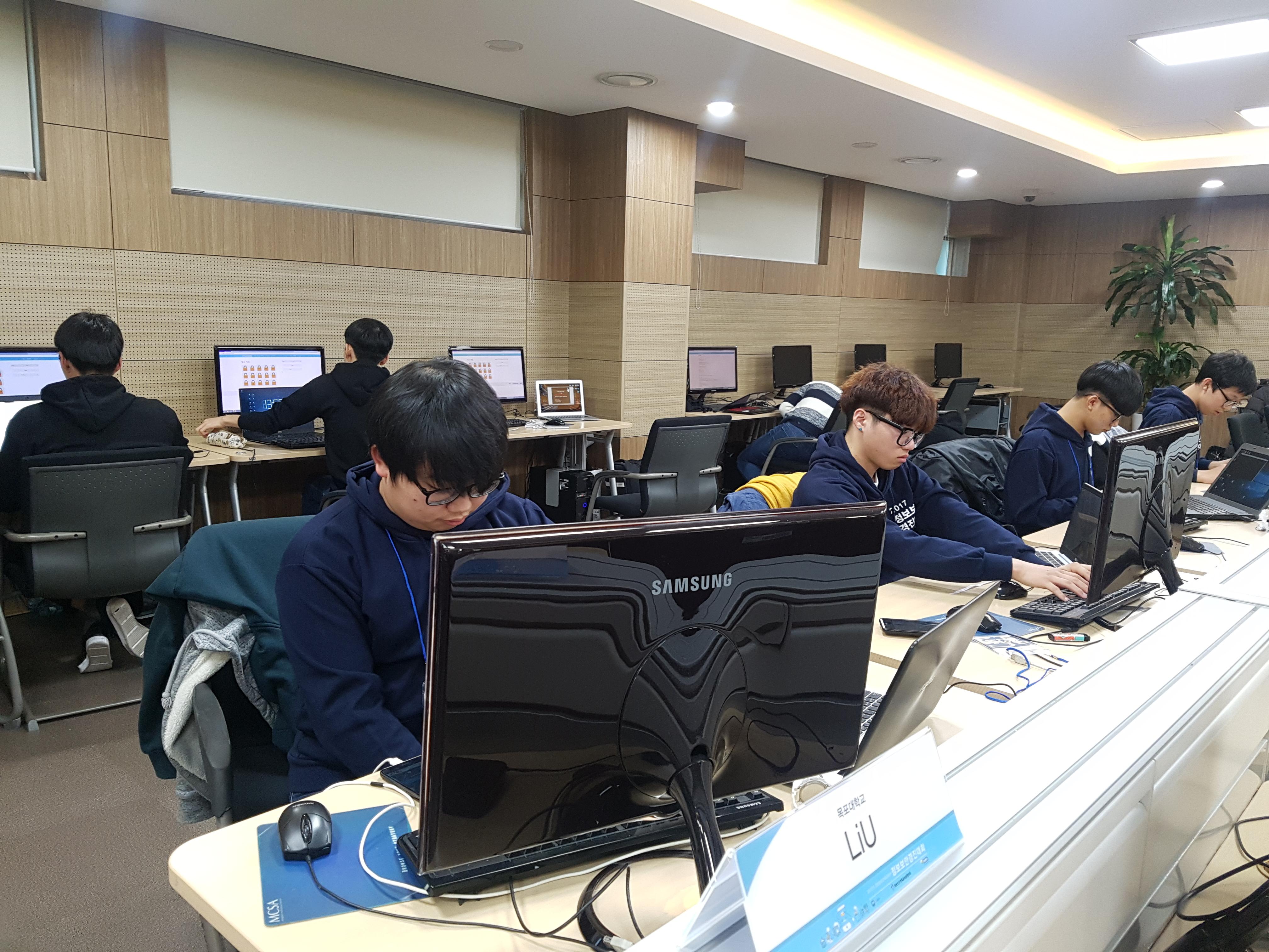 2017년 영재교육원 KERIS 단체전 사진