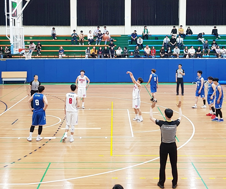 목포대 농구부 3년 연속 전국체육대회 진출