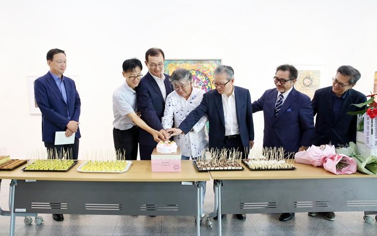 9.17.(화) 미술학과 손영환 교수 정년...