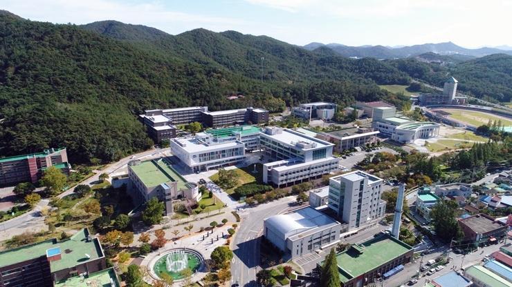 2019. 장려상_김선우_하늘에서 본 MNU(로봇산업일자리창출센터)