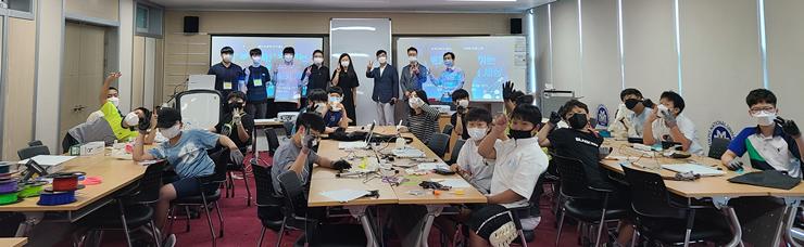 목포대 로봇인공지능융합센터, 전남도교육청과 함께하는'로봇과학으로 여는 창의융합 메이커 세상'