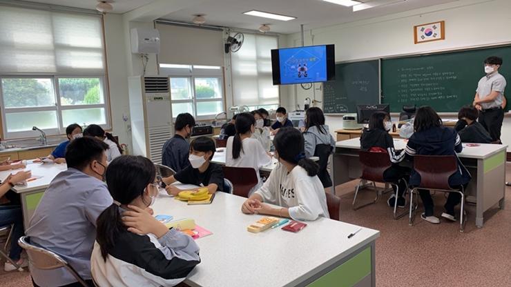 WISET 전남지역목포대사업단, 2021년도 '찾아가는 과학교실(기계분야)'운영